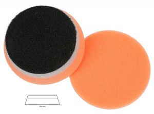 "Lake Country HDO Orange Heavy Polishing Pad - średni, wytzrymały pad polerski 3,5""/89 mm"