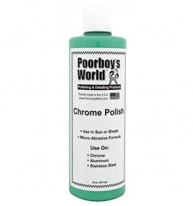 Poorboy's World Chrome Polish - delikatna pasta polerska do metalu (chromu, aluminium, stali) 473ml