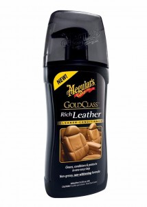Meguiar's  Gold Class Rich Leather Cleaner & Conditioner - pielęgnacja skóry 414ml