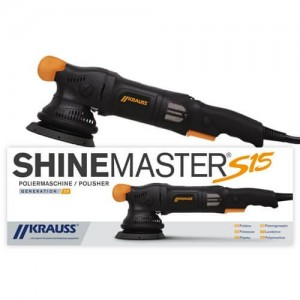 Krauss Shinemaster S15 v2 - maszyna polerska DA dual action skok 15mm, talerz 125mm