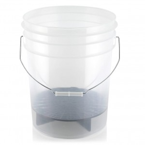 Automotive Care Clear Bucket - wytrzymałe, transparentne wiadro do mycia 20L