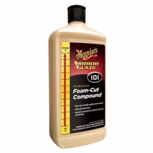 Meguiar's Mirror Glaze Foam Cut Compound #101 - pasta polerska 946ml