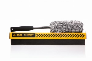 WORK STUFF Squally Wheel Brush – mała szczotka z mikrofibry do mycia felg