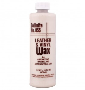 Collinite No.  855 Leather and Vinyl Wax - wosk do skóry i vinylu 473ml