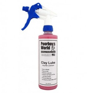 Poorboy's World Clay Lube - lubrykant do glinki 473ml